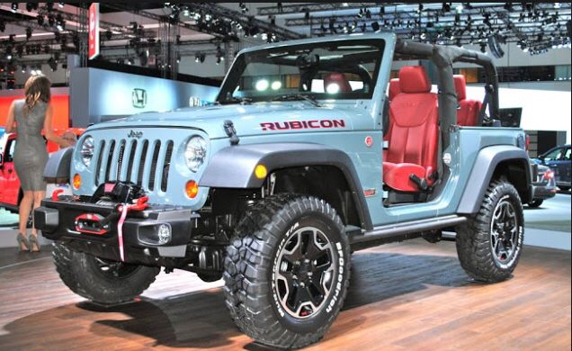 More Anvil Body Color With Red Accenting Jeep Wrangler Jk Mods 2