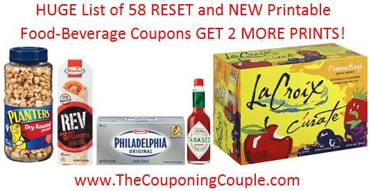 It is only the middle of the month but we already have coupons RESETTING! Here are 58 RESET and NEW Printable Food-Beverage Coupons! Get them while you can! Direct links Here ► http://www.thecouponingcouple.com/58-reset-and-new-printable-food-beverage-coupons/  #ExtremeCouponing #Coupons #Couponing #CouponingCommunity  Visit us at http://www.thecouponingcouple.com for more great posts!