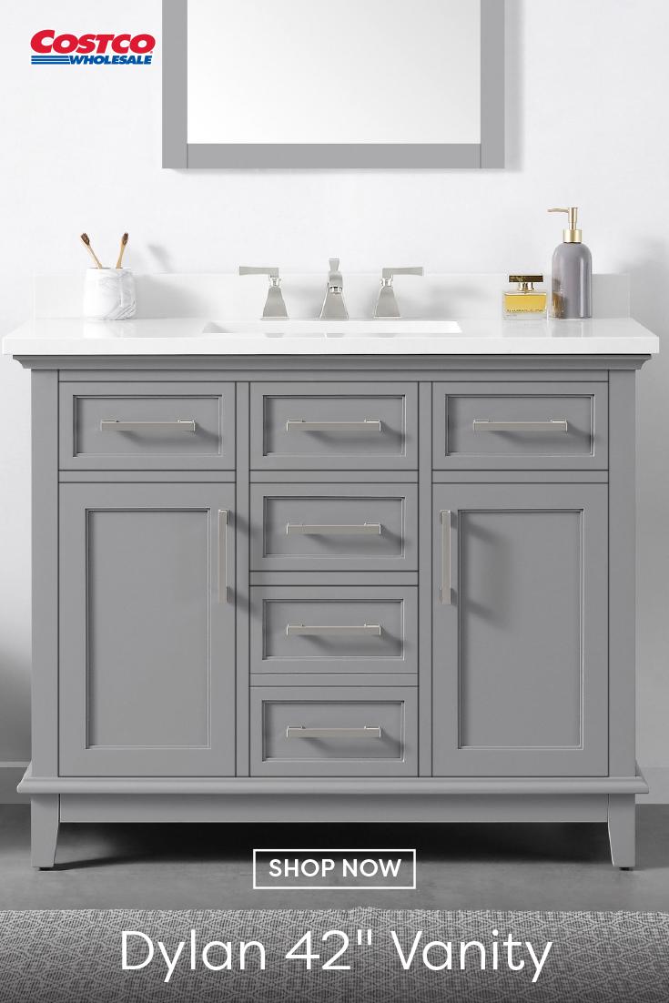 Ove Decors Dylan 42 Bath Vanity In 2020 Black Vanity Bathroom Bath Vanities Vanity