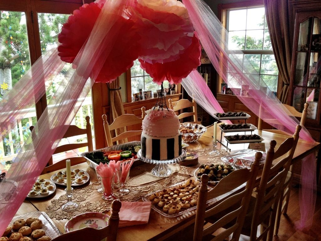 Baby Shower Girl Themes 2014 ~ Pink and brown baby shower ideas pretty in pink baby shower
