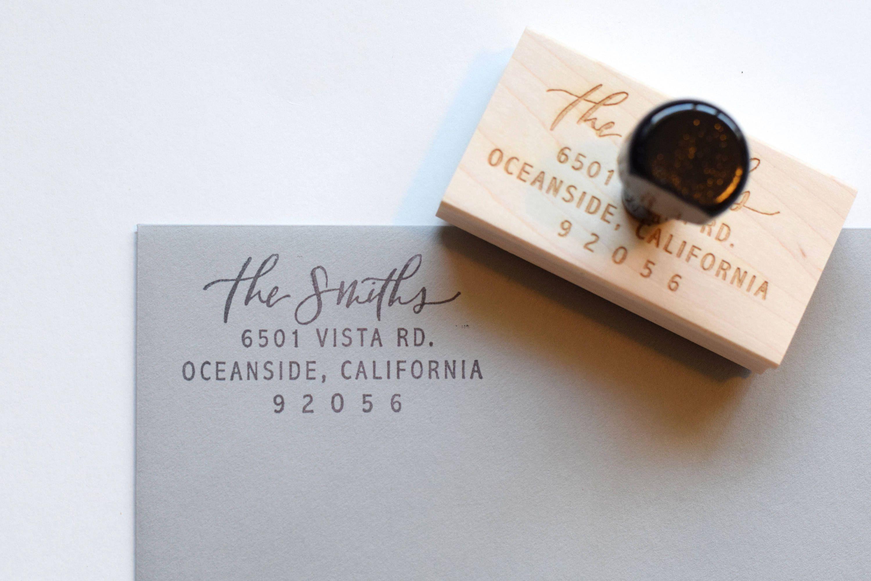Address Stamp Return