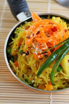 Chilli and Sesame Vermicelli | K.O Rasoi