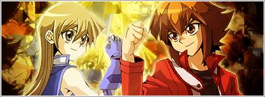 Judai and Asuka Banner by roninator001 on DeviantArt
