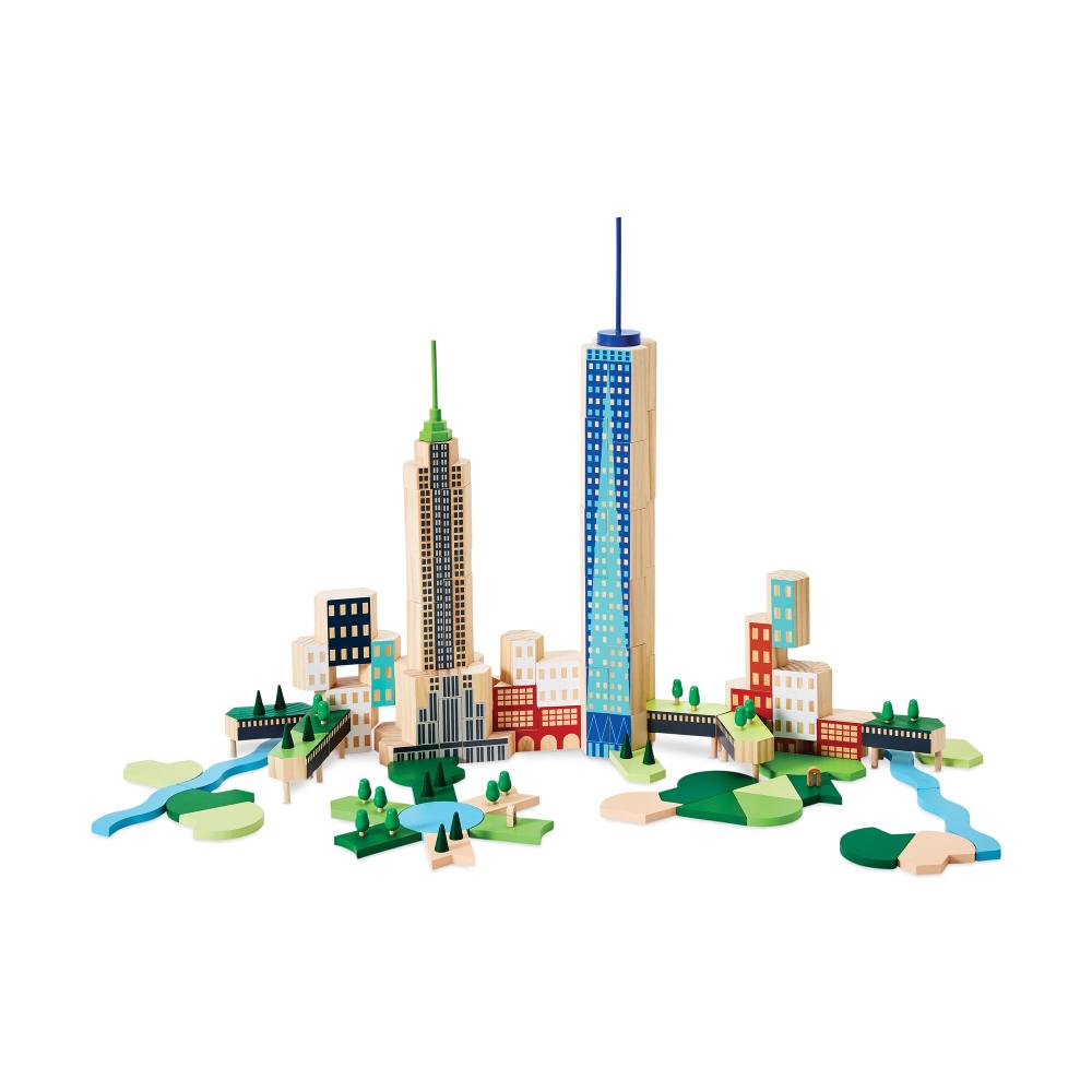 Blockitecture NYC Big Apple in 2020 Big apple, Wood