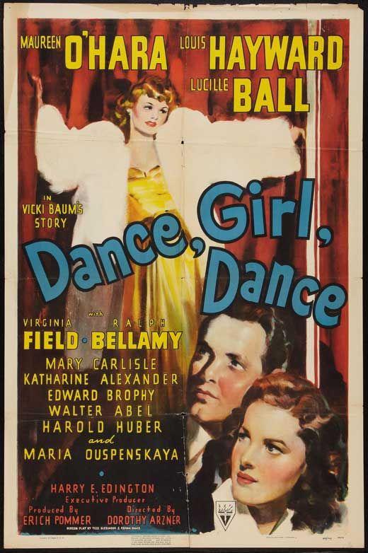 Dance Girl Dance 1940 Starring Maureen O Hara And