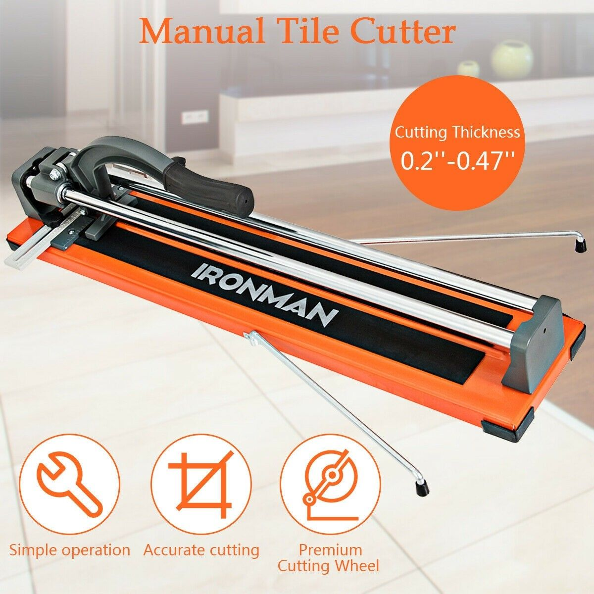 3 In 1 Heavy Duty Tile Cutter In 2020 Tile Cutter Cutter Diy Tile