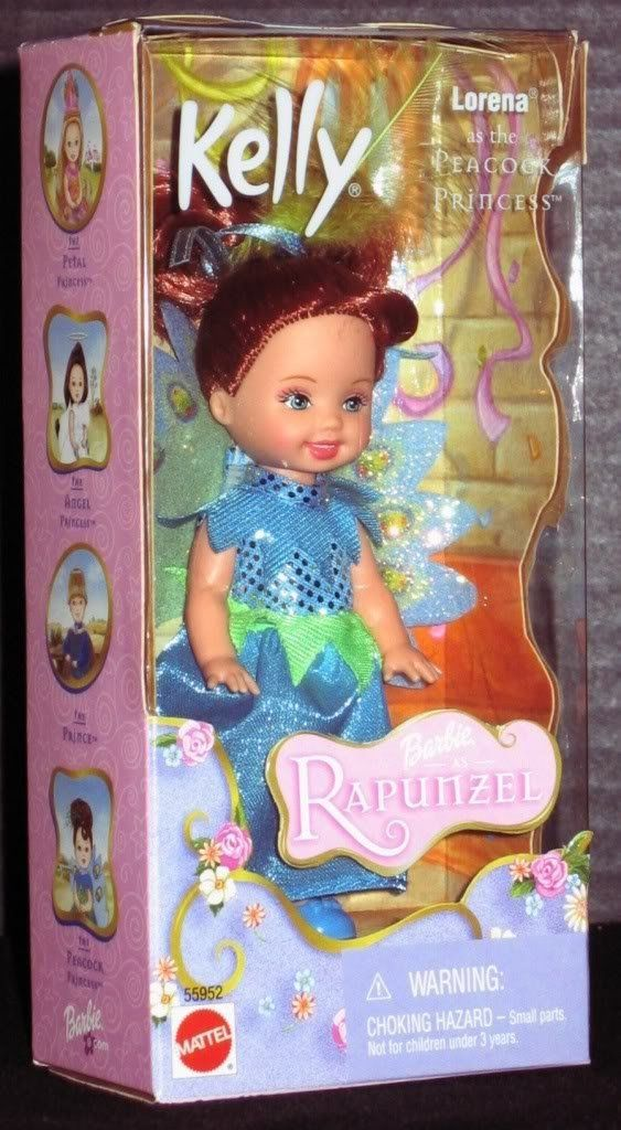 Amazon.com: Barbie As Rapunzel Kelly Club Lorena As the