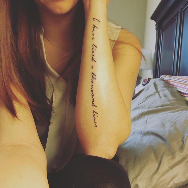 29+ Best Small word tattoos on arm ideas