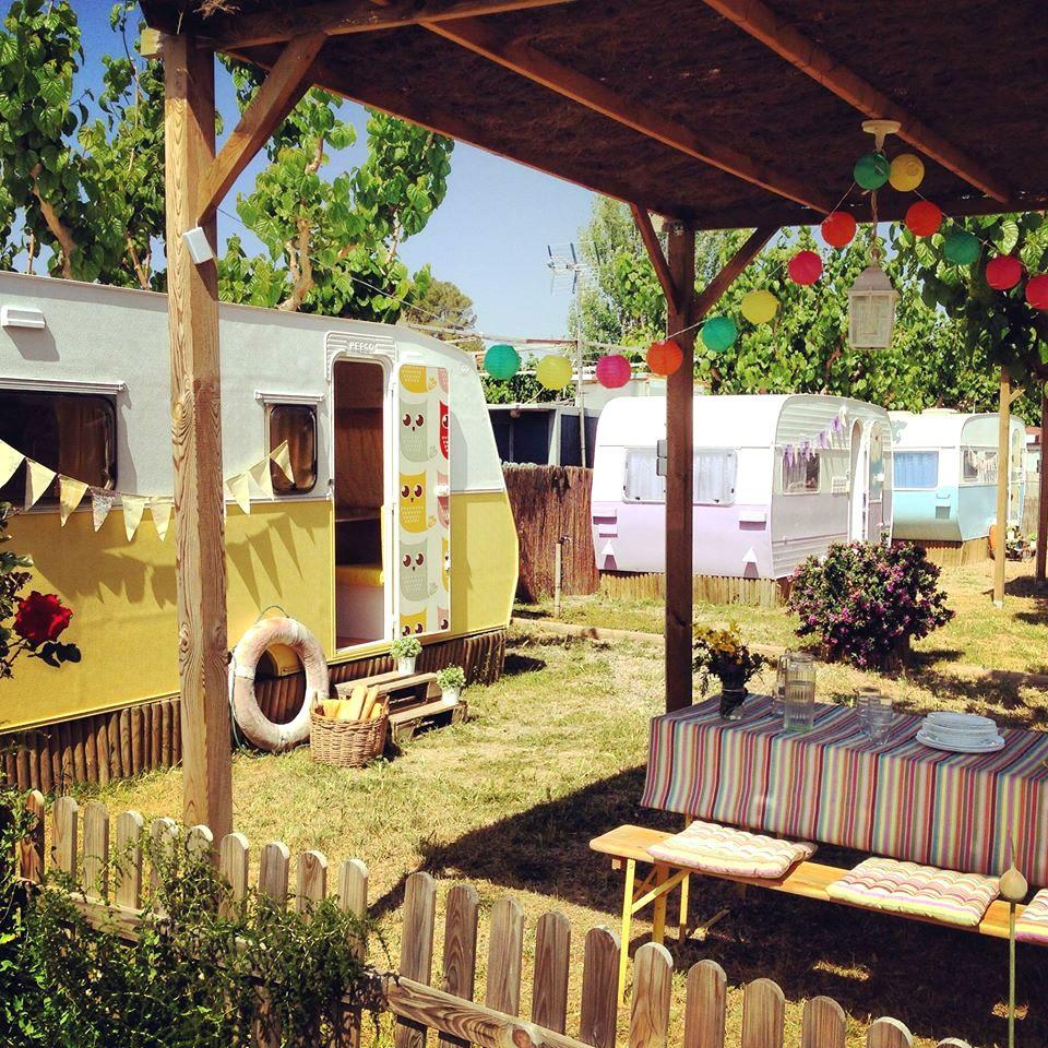 Los mejores glampings de espa a hoteles camping en - Refugios con encanto ...