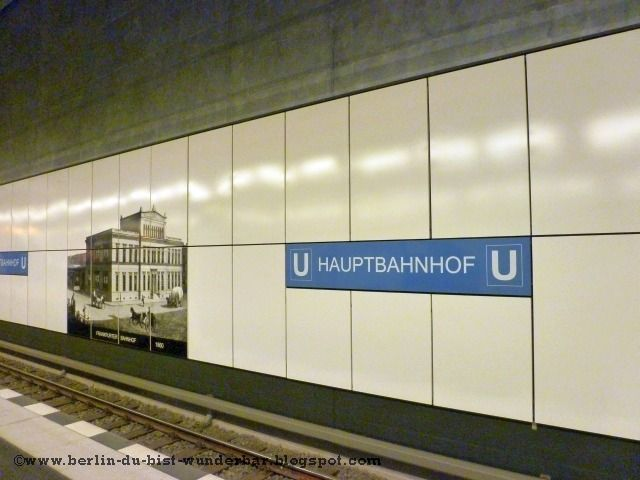 berliner hauptbanhhof - U-bahnhof