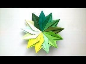 Photo of Origami Mandala mit 13 Details – Origami Modular Star