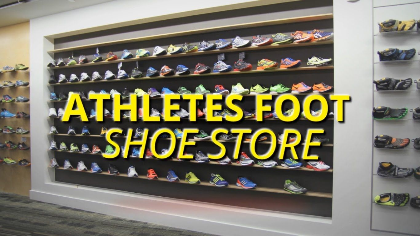 Athletes foot, Shoe store