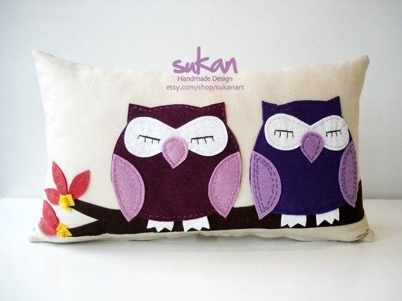 cute owl pillow!