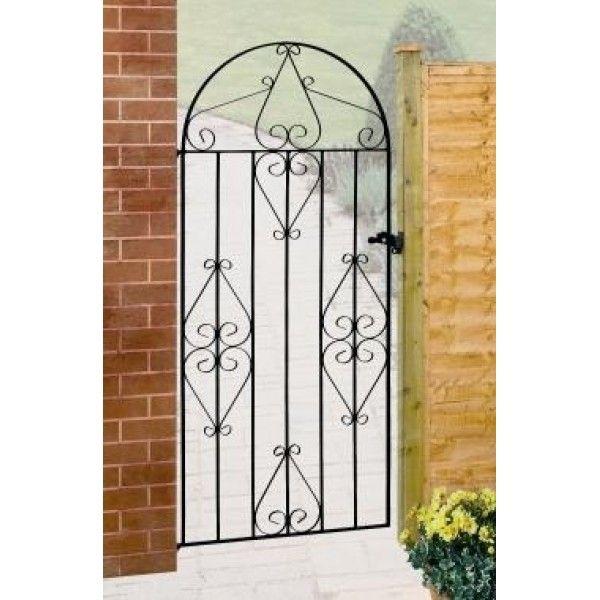 Classic Bow Top Gate In 2020 Gates Railings Metal Gates