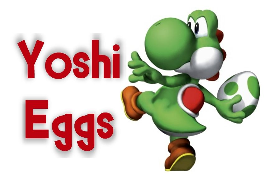 Mario Kart Yoshi Egg Label I Printed This In A 4x6 And Put It In A Frame To Label Super Mario Birthday Party Nintendo Birthday Party Mario Birthday Party