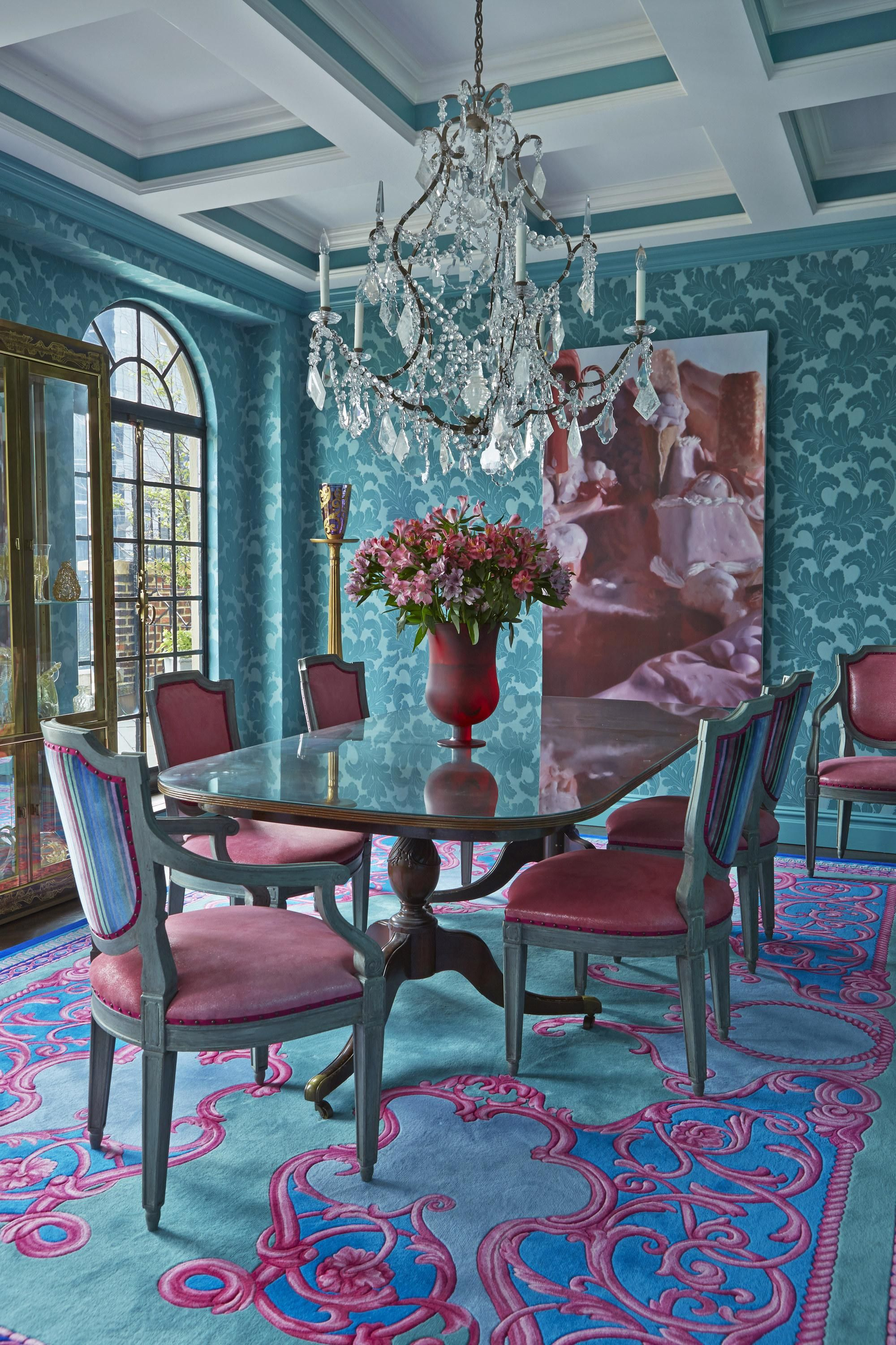 John Barman S Approach To Creating Bold And Colorful Spaces