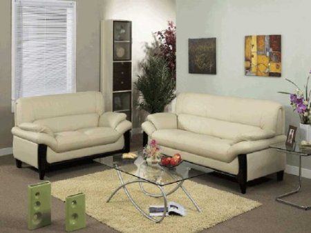 Amazon Com 3pcs New Cotemporary Leather Sofa Set Item Ac 211