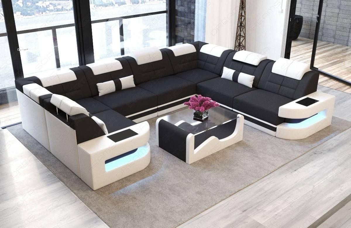 Premium Fabric Sofa Denver U With Images Large Sectional Sofa Fabric Sectional Sofas Corner Sofa Design
