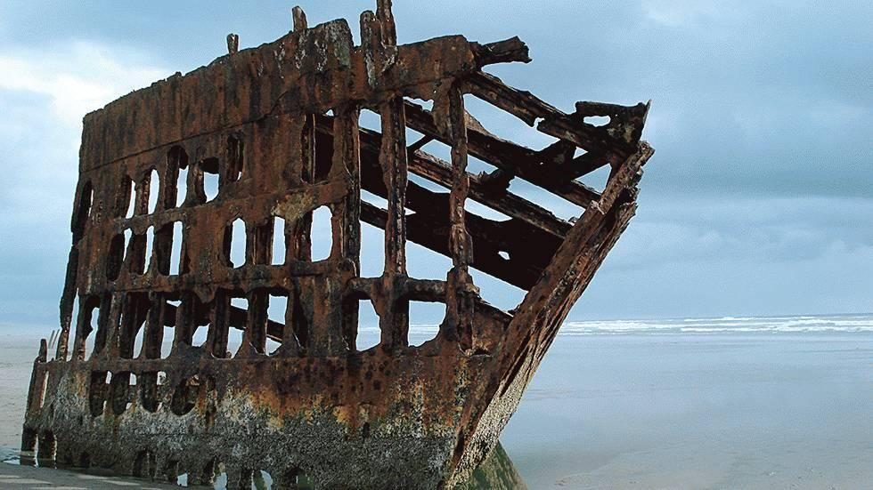 Flash Storm Washes Ashore Really Expensive Yacht Oregon
