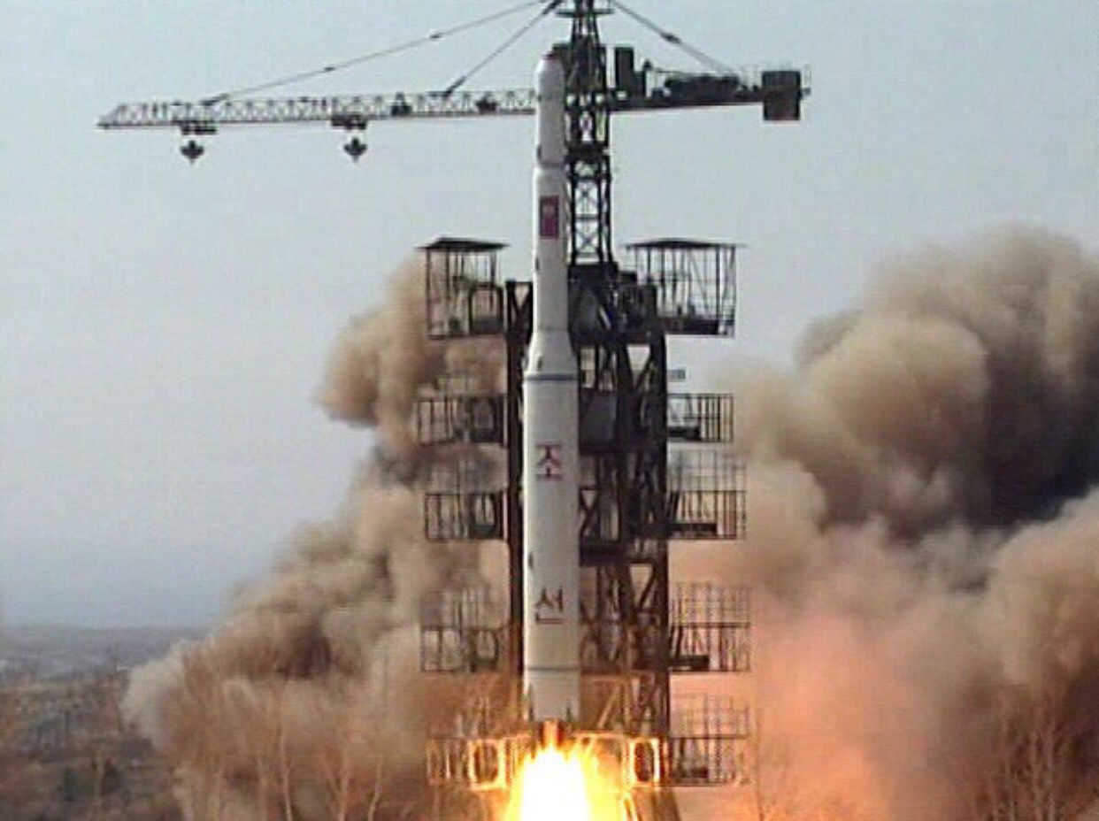 North Korea Launches Nuclear Rocket (Daniel 7) http://andrewtheprophet.com/blog/2016/02/07/north-korea-launches-nuclear-rocket-daniel-7/