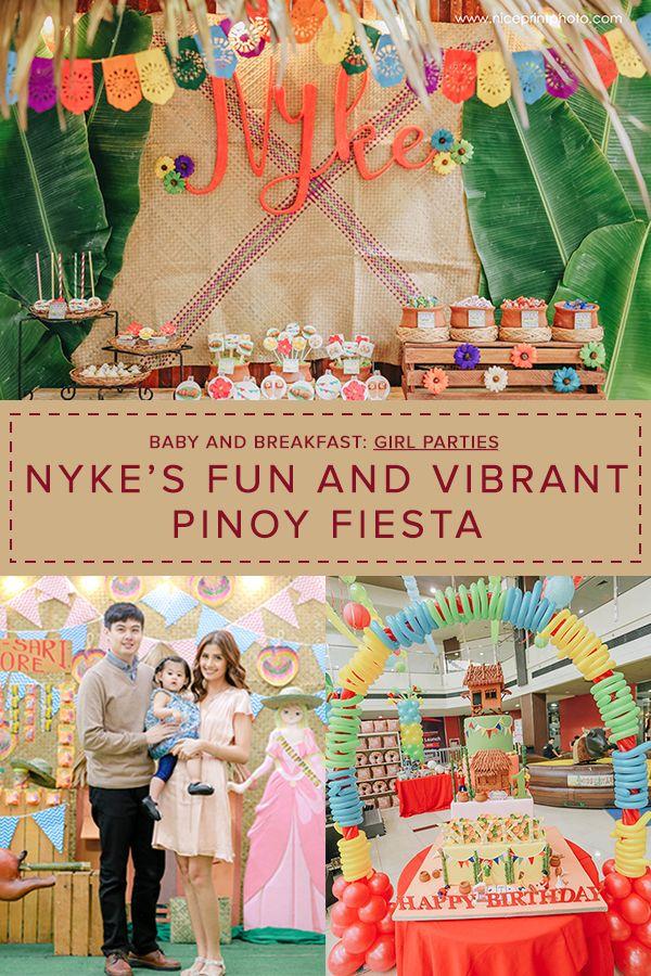 Nyke's Fun and Vibrant Pinoy Fiesta Fiesta theme party