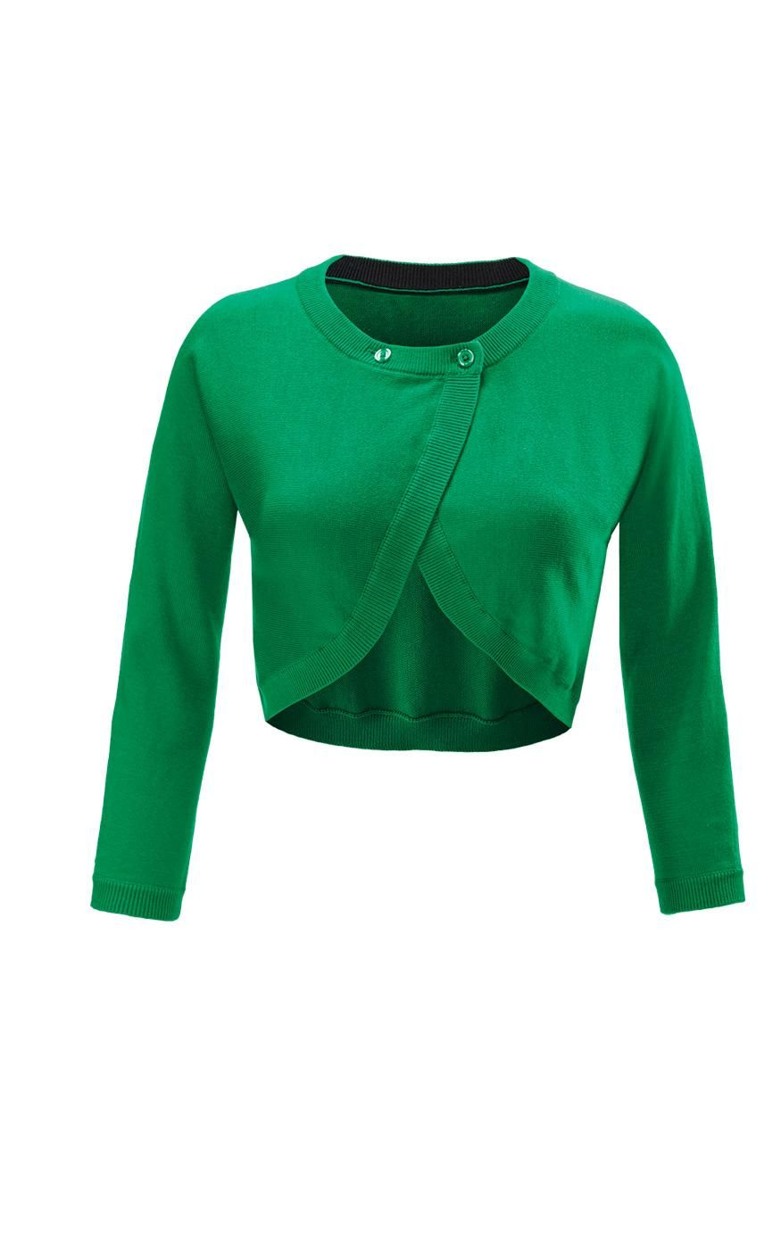 Discover cabi's Piccolo Shrug, a sweet cropped sweater featuring a ...