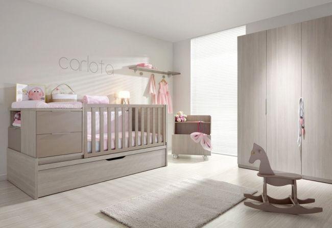 eichenholz mbel babyzimmer mdchen sanft rosa limba - Babyzimmer Mdchen