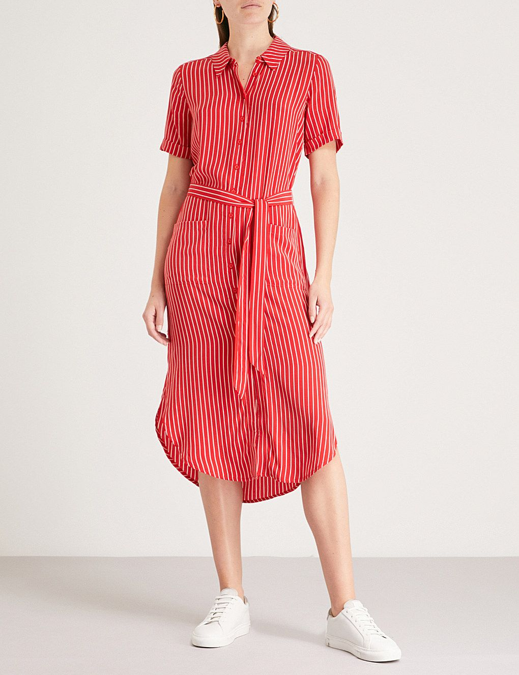 Montana Striped Shirt Dress In 2019 Dresses Dresses Shirt Dress