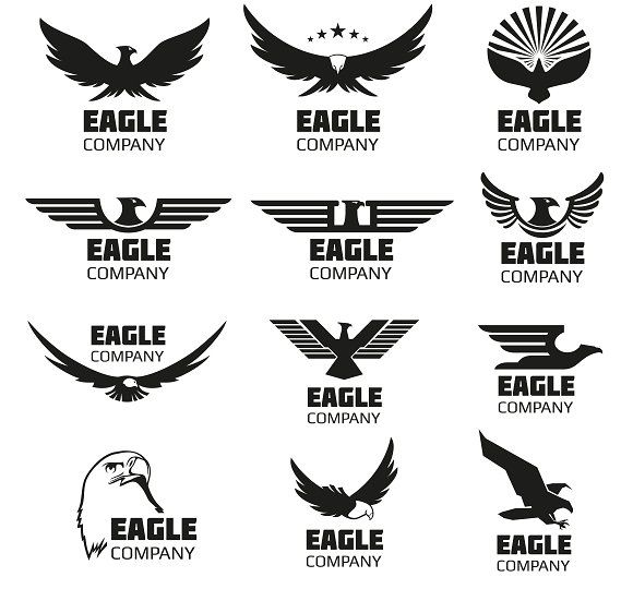 eagles vector logo set by microone on creativemarket tattoos