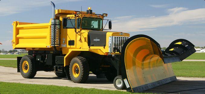 Oshkosh P Series Snow Plow Snow Plow Truck Oshkosh Truck
