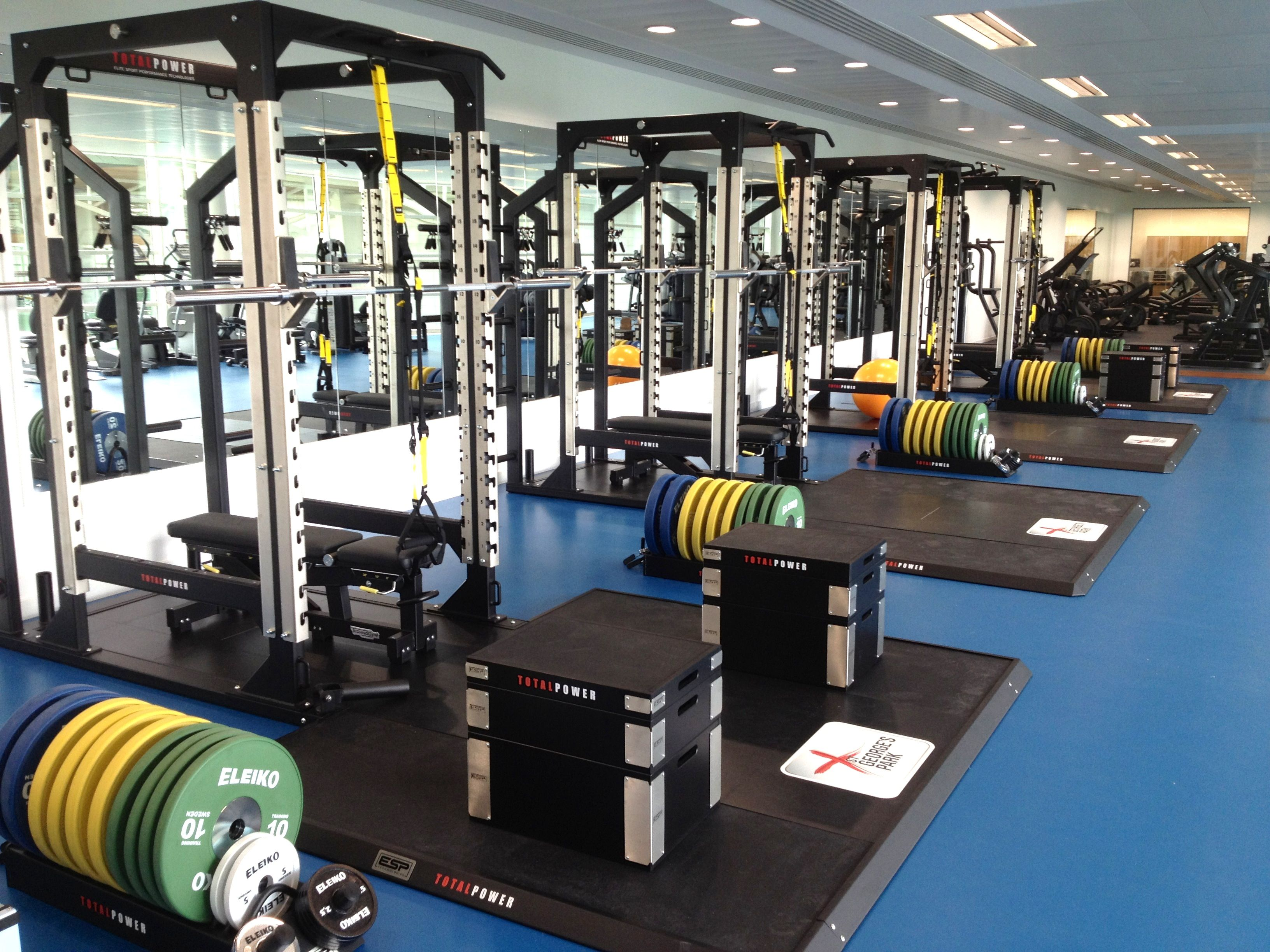 Esp Power Racks, Platforms & Training Blocks At The Fa,