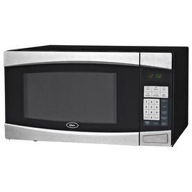 Oster 1 4 Cu Ft 1000 Watt Countertop Microwave Black Ogym1401 Digital Microwave Black Microwave Countertop Microwave