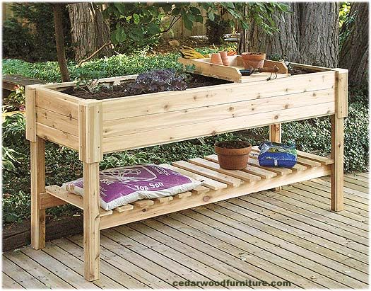 Raised Bed Container Garden Planting Table 6 Long Exclusive