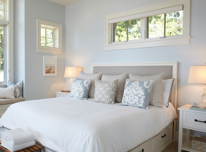 Love The Pale Duck Egg Blue For The Spare Room Cool