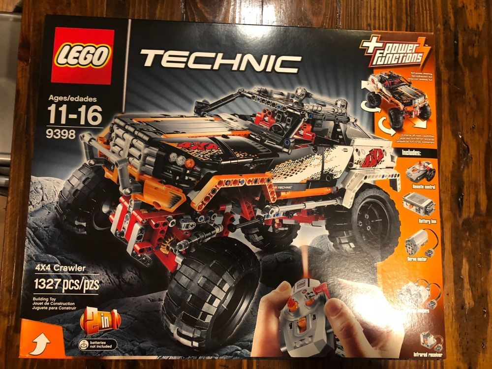 Lego Technik 4 x Technik Steine 1 x 14 in Gelb