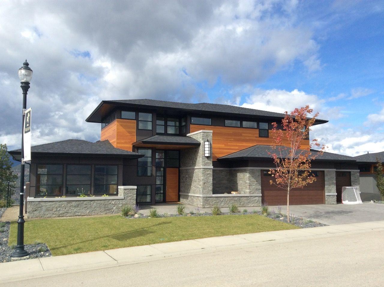 Modern home completed spring 2016. #Wilden #Kelowna ...