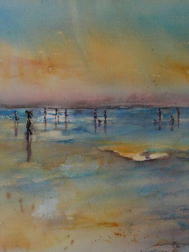 Joke Klootwijk ~ Watercolor 45 x 35 cm