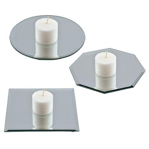 Bulk Glass Mirror Candleholders 5 In At Dollartree Com Candle Mirror Mirror Candle Plate Mirror Candle Holders