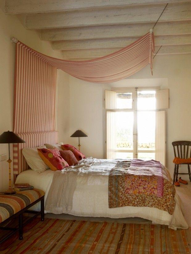 Natural Bedroom Decor: DIY Canopy: Diy Bed Canopy Ideas Natural