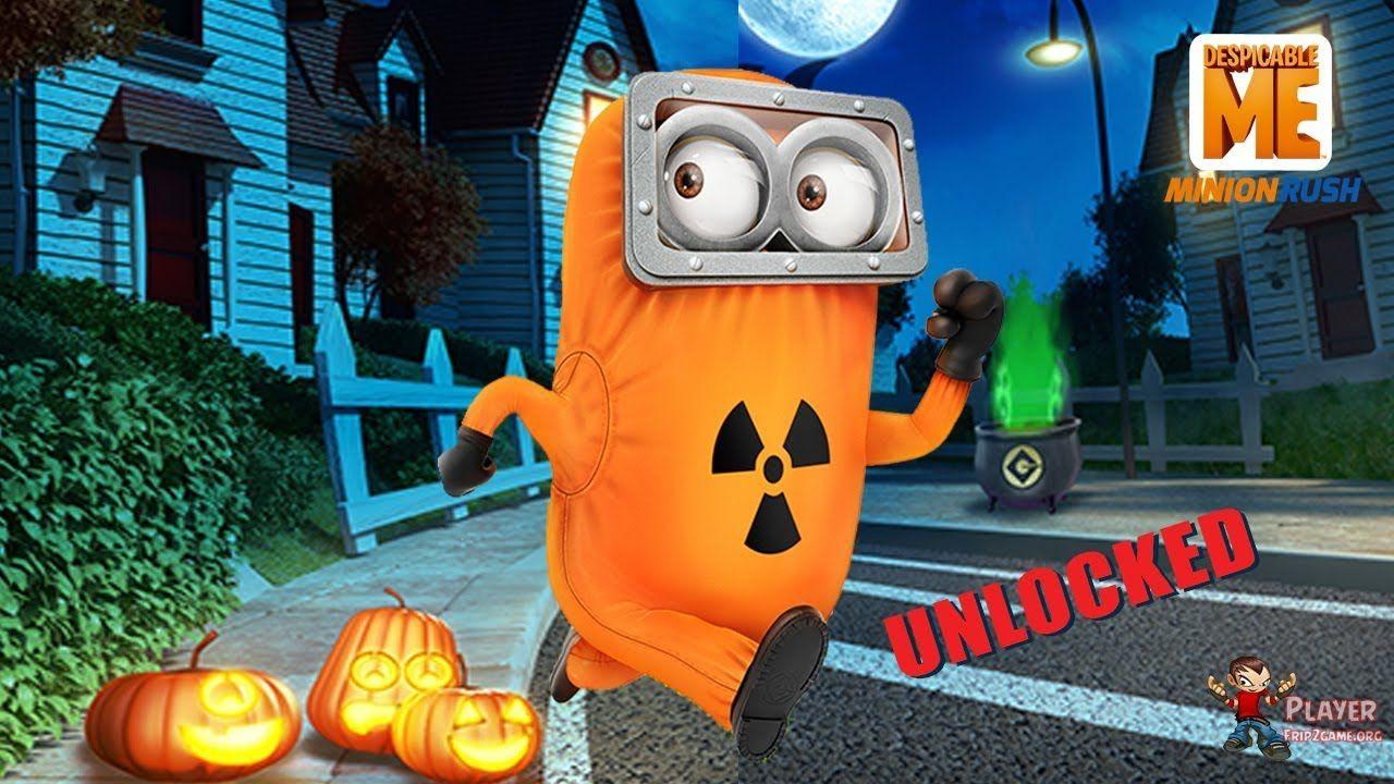 Minion Rush Halloween 2019 Hazmat Minion Unlocked