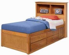 And Include Table Plans Captains Bed This Plan Is Also The Base