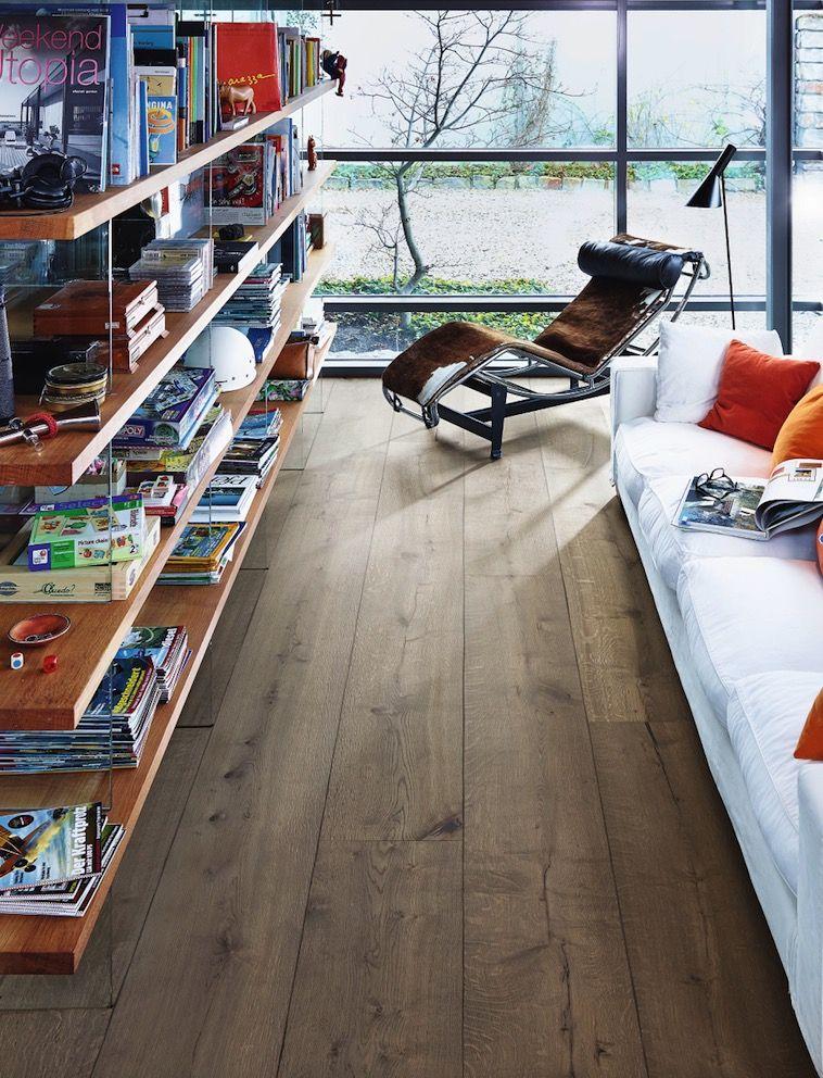 zuhause wohlf hlen im modern style mit eiche rustikal lehmgrau lindura holzboden hd 300 8411. Black Bedroom Furniture Sets. Home Design Ideas