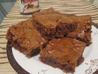 Nutella Brownies.