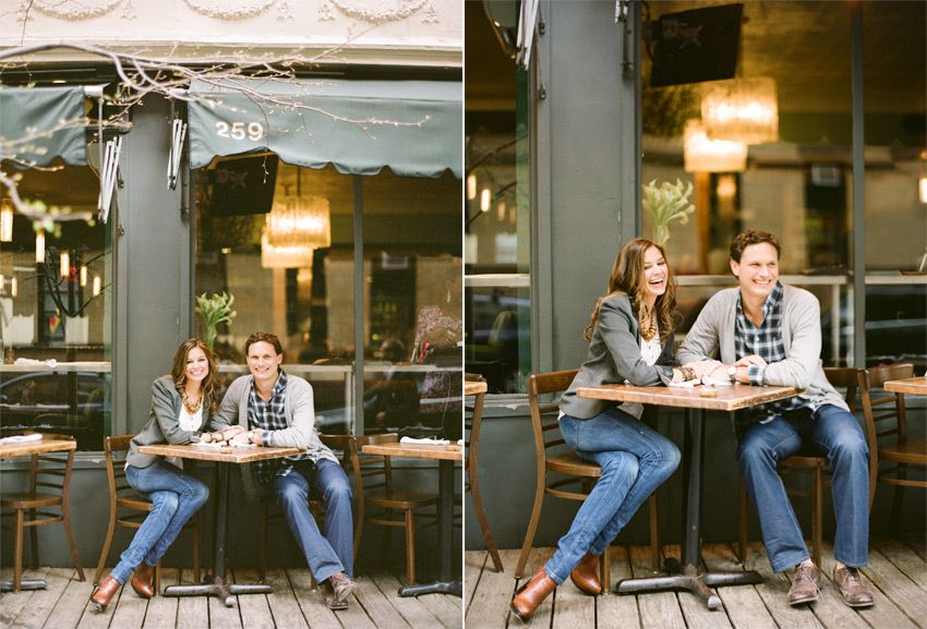 Nicole and Dave, New York in the Springtime - KT Merry Photography