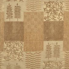 Brown Patterned Chenille Upholstery Fabric Thick Luxury Premium