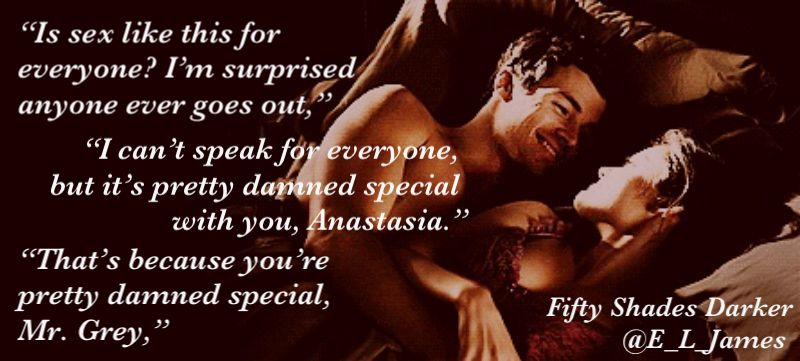 He rolls onto his side so I'm lying beside him and gazes down at me. #FiftyShadesDarker @E_L_James @BookTemptations