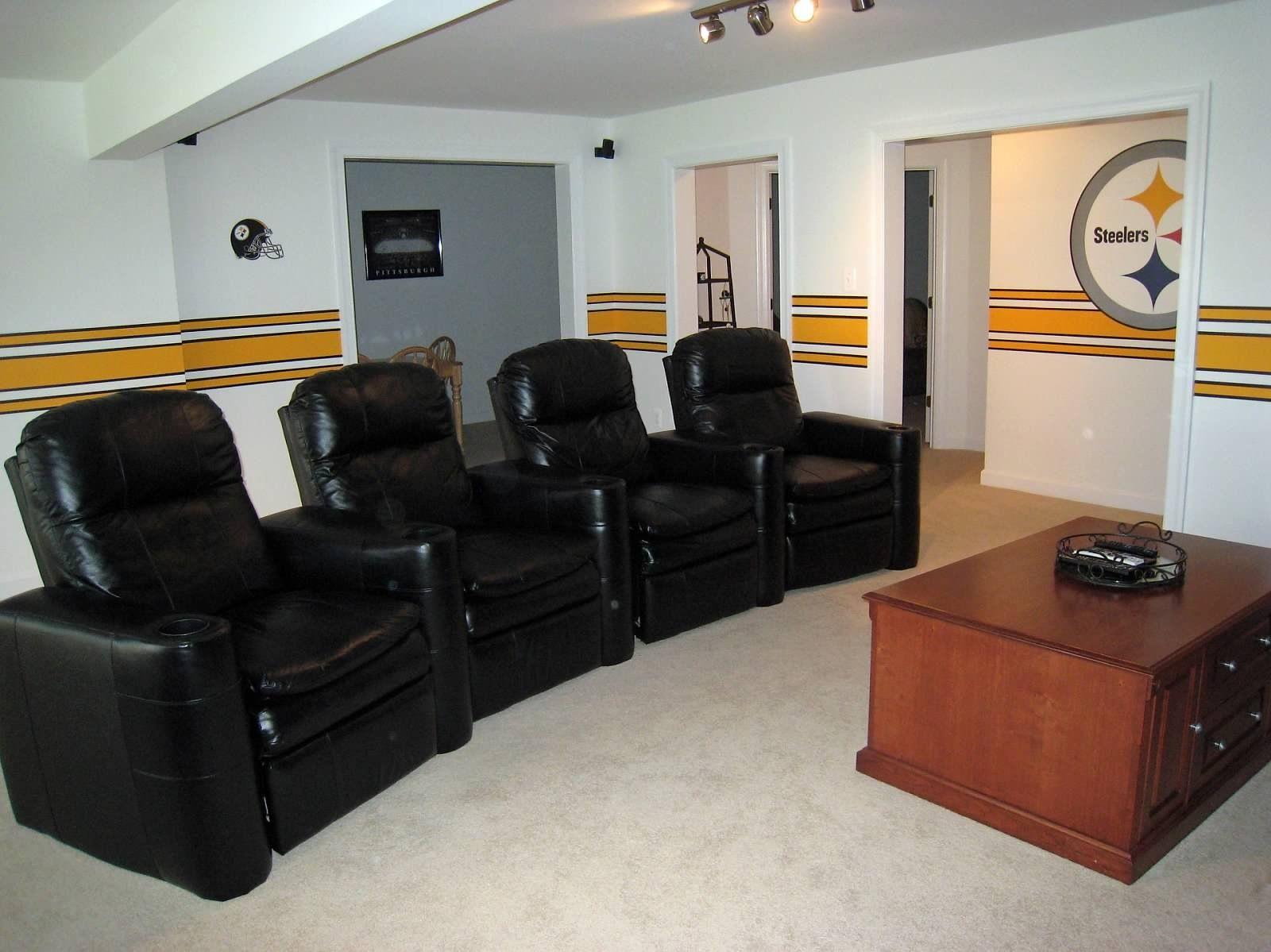 Pin By Matt August On Steelers Rooms Ideas Man Cave Bathroom Pittsburgh Steelers Man Cave Man Cave Room