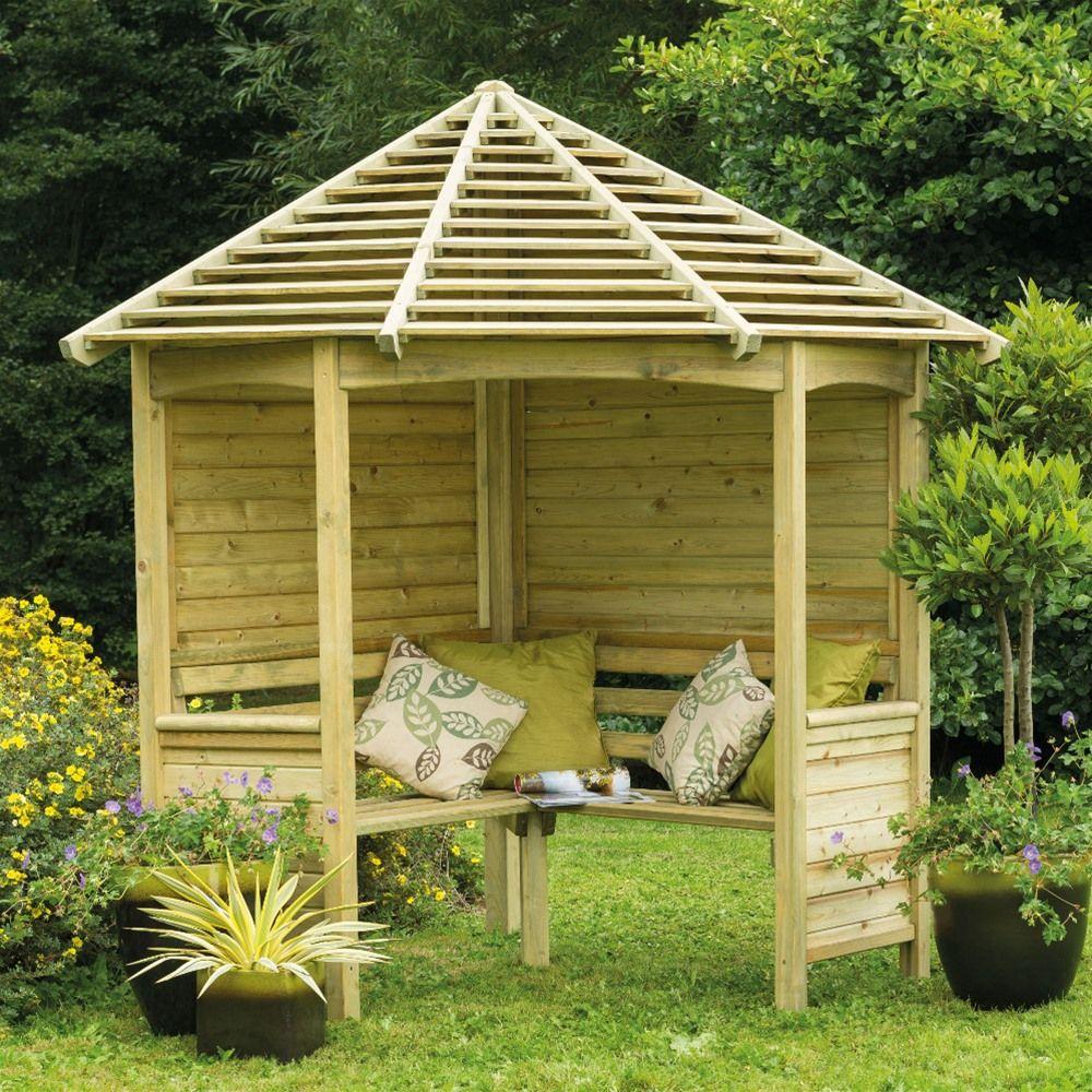 Forest Garden Corner Arbour Gardener