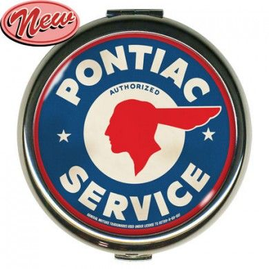 Pontiac Service Round Compact http://www.tensionwire.com/indie-brands/indie-accessories-brands/retro-a-go-go/pontiac-service-round-compact.html