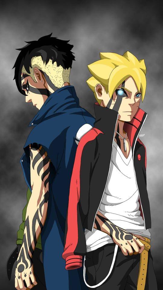 Boruto And Kawaki By Rakbar97 Lukisan Keluarga Wallpaper Naruto Gambar Animasi Kartun Boruto wallpapers hd android